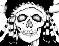 Be Street x Converse Black Bones Club
