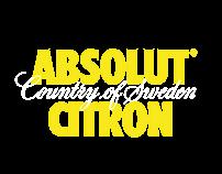 ABSOLUT®CITRON Ads video (Not official)