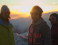 Snowboard day in El Colorado, Chile
