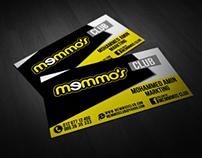 Memmo's Card