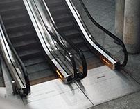 Cinemagraphs / Animated photography - Escalators