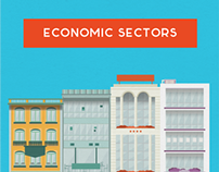 economic sectors // illustrations
