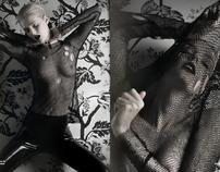 Chris Kolk photographs Lydia Hearst for Schon Magazine