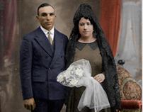 COLORIZE PHOTO 1930s