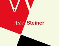 Tribute to Albe Steiner   1913 - 2013