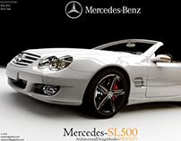 Automotive - (Mercedes Benz-SL500).