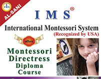 Montessori Teachers Training - Brochure