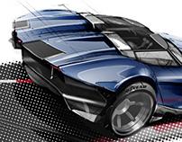 Retro Cobra redesign concept