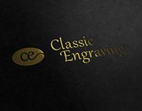 Classic Engraving Logo Redesign