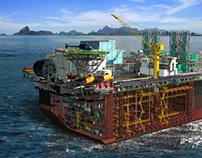 Imagens e Animações 3D para Projeto da Área Naval