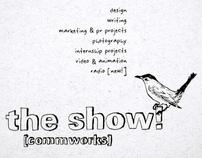 Design Dept. Student Show Promotional Designs