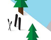 Flat Skiing
