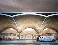 Rostov Airport Competition, HAPTIC Architects