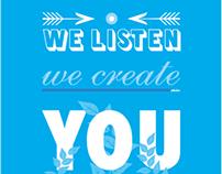 Blueriver Creative - Studio Poster
