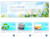 Uniclima Corporative Website