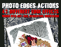 Photo Edges Actions for Photoshop Vol 3