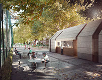 DeRosa Sa Architects, Friends Of Brook Green Pavilion