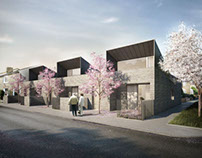 Bell Philips Architects, Greenwich Bungalos