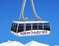 Squaw Valley Ski Resort Poster
