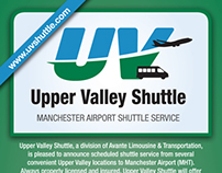 Upper Valley Shuttle Rack Cards