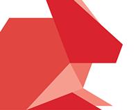 Das Rotes Rabbit Branding