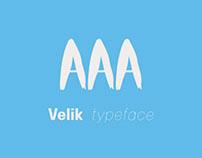 Velik Typeface