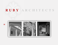 Ruby Architects Website Redesign