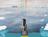 APEX float in Antarctica