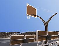 Balance - Open Air Basketball Court