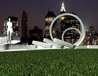 Outdoor Interactive sculpture