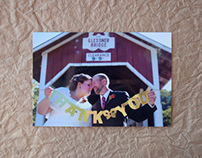 Mr & Mrs. Thank You Postcard