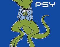 Psy - Gagnam-saurus Rex T-shirt