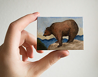 Small Format Oil Paintings