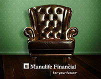 Selection of works for Manulife Singapore