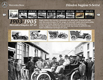 Mercedes-Benz History of S-Class Facebook App