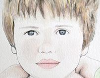 Laia i Pau portrait