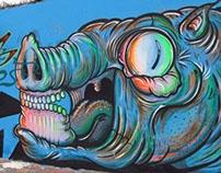 pre-Meeting style // intervencion mural