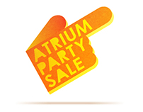 ATRIUM PARTY SALE