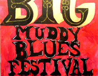 St. Louis' Big Muddy Blues Festival Giant Poster