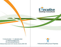 Presentation Folder - Executive Staffing Consultant