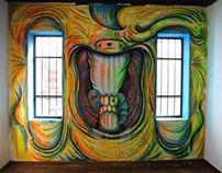 Caries /// intervencion mural -  indoor