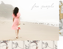 Free People Fall/Winter 2013 Look Book moodboard