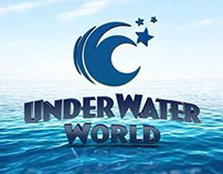 Underwater World 3d Logo
