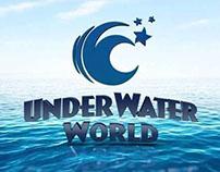 Underwater World 3d Logo