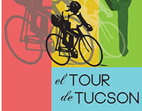 El Tour de Tucson Poster (Contest Entry)