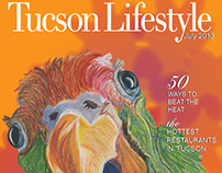 Tucson Lifestyle Cover Design