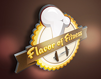 Flavor of Fitness Logo