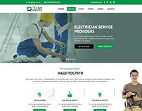 Landing page Teamelektro