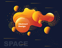 Space Abstract Illustrator