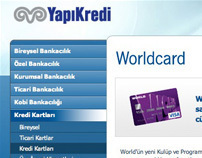 Yapı Kredi Bank Corporate Website